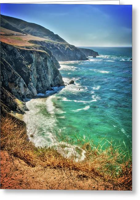 Big Sur Coast At Bixby Bridge Greeting Card by Jennifer Rondinelli Reilly - Fine Art Photography