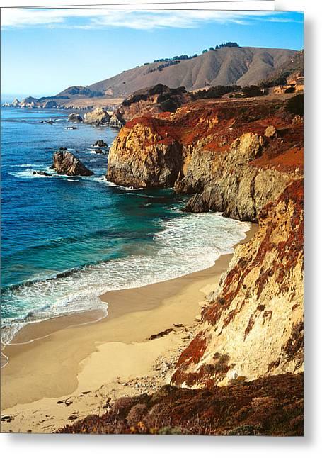 Big Sur Coastline California Greeting Card