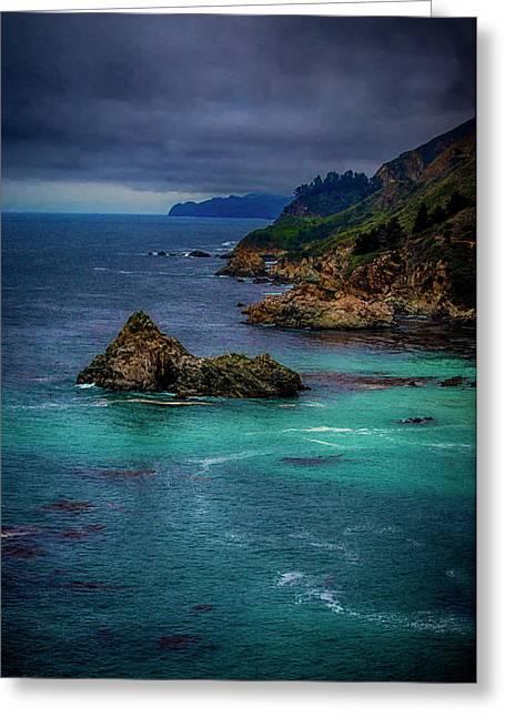 Big Sur Coastline Greeting Card by Joseph Hollingsworth