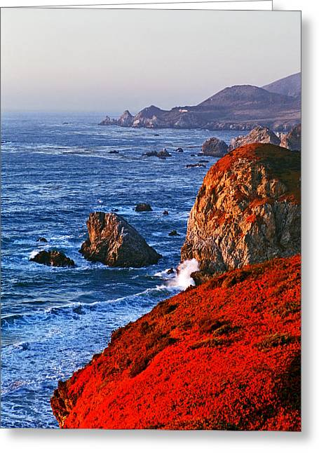 Big Sur Greeting Card by James Rasmusson