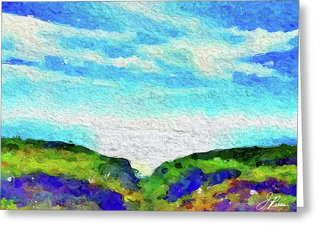 Big Sur Greeting Card by Joan Reese