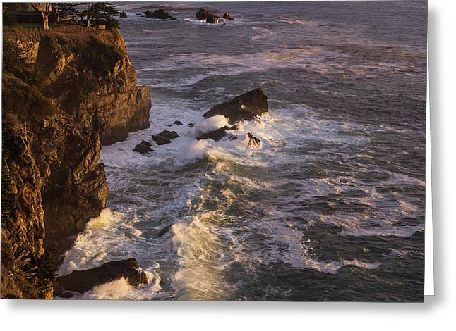Big Sur Light C A Greeting Card