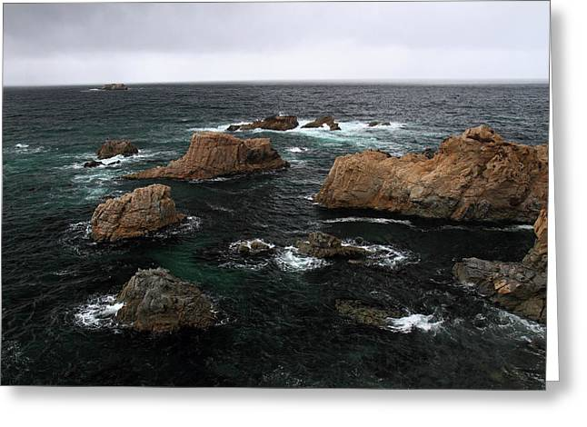 Big Sur Greeting Cards - Big Sur ocean scene Greeting Card by Pierre Leclerc Photography