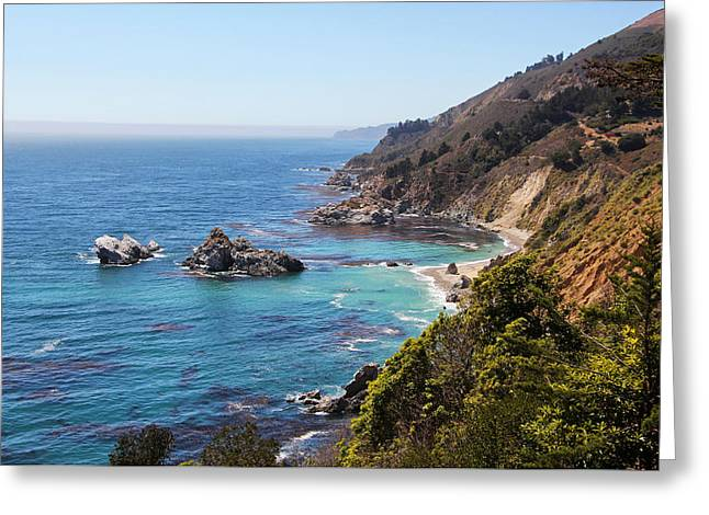 Big Sur Greeting Card by Sierra Vance
