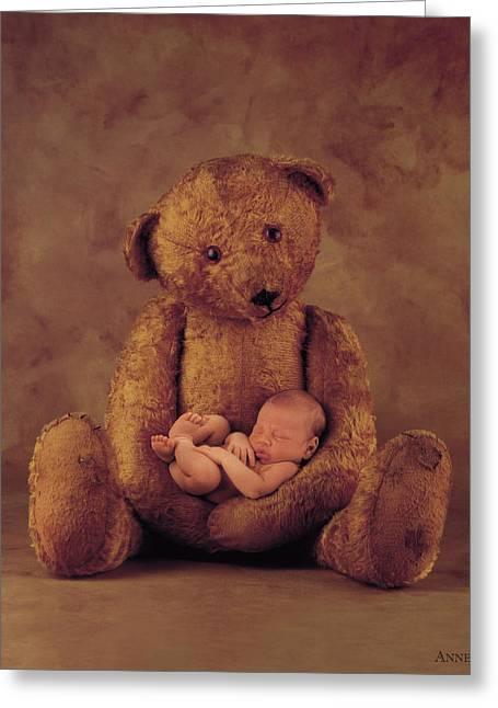 Big Ted Greeting Card by Anne Geddes
