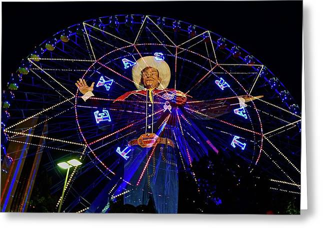 Big Tex Greeting Card