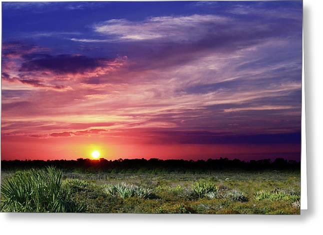 Big Texas Sky Greeting Card
