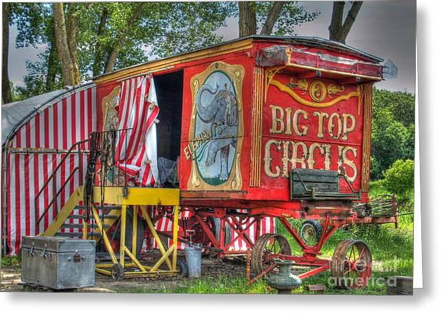 Big Top Circus II Greeting Card