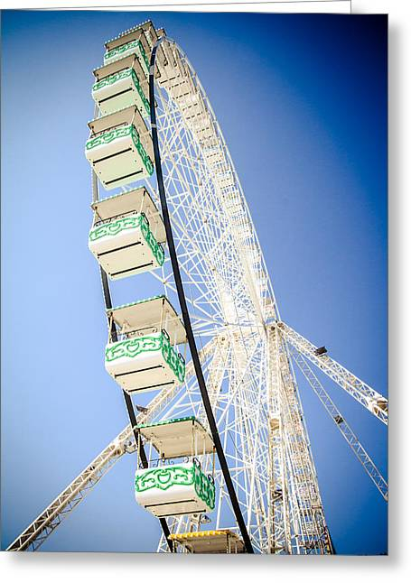 Greeting Card featuring the photograph Big Wheel by Jason Smith