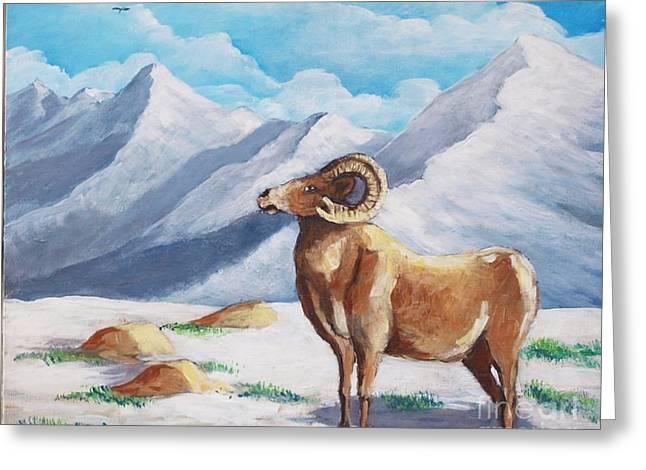 Bighorn Kam Greeting Card