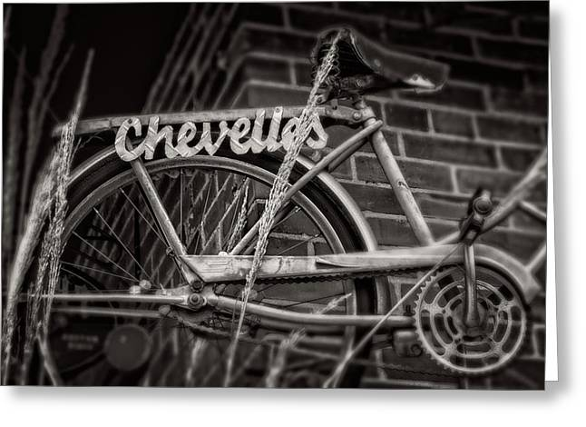 Greeting Card featuring the photograph Bike Over Chevelles by Greg Mimbs