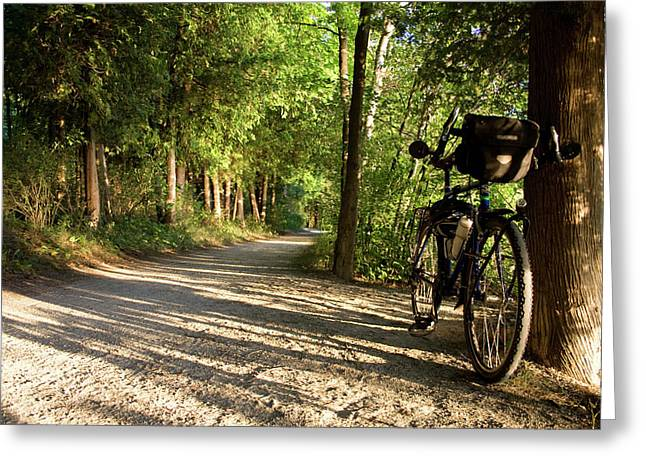 Bike Rest Greeting Card