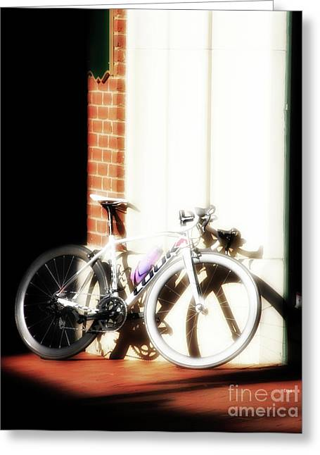 Bike Sugar  Greeting Card by Steven Digman