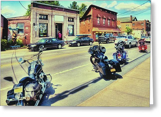 Bikes And Brews - Postcard Greeting Card