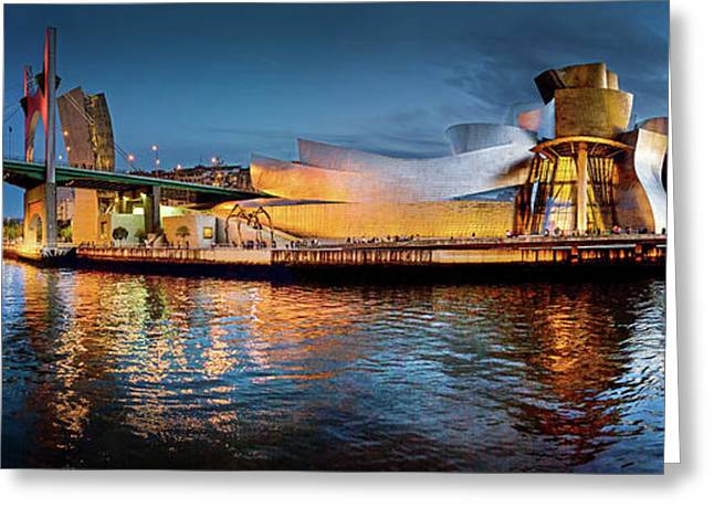 Bilbao Guggenheim Greeting Card