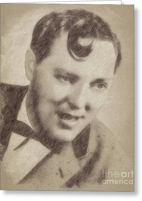 Bill Haley, Music Legend By John Springfield Greeting Card