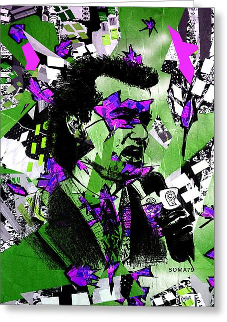 Bill Murray, City News - Og Joker Remix Greeting Card