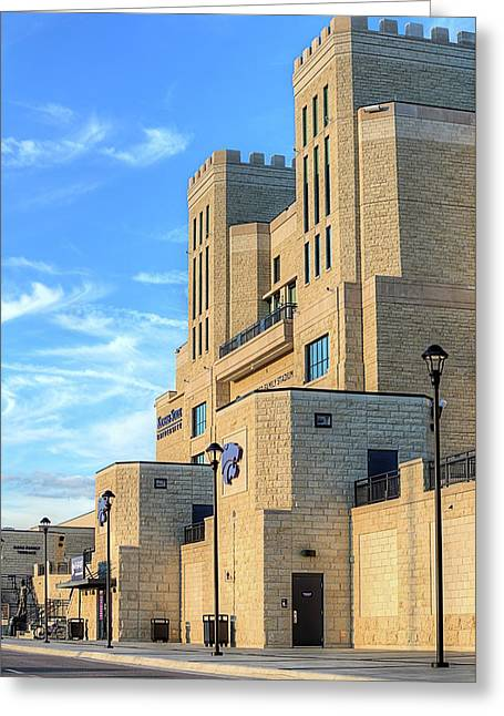 Bill Snyder Stadium Greeting Card by JC Findley