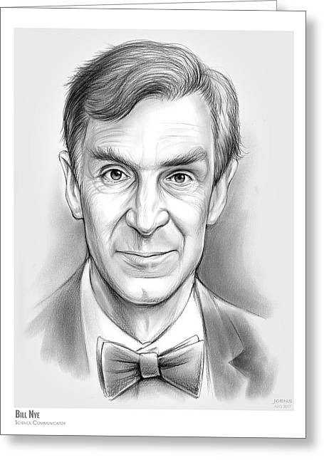 Bill The Science Guy Greeting Card