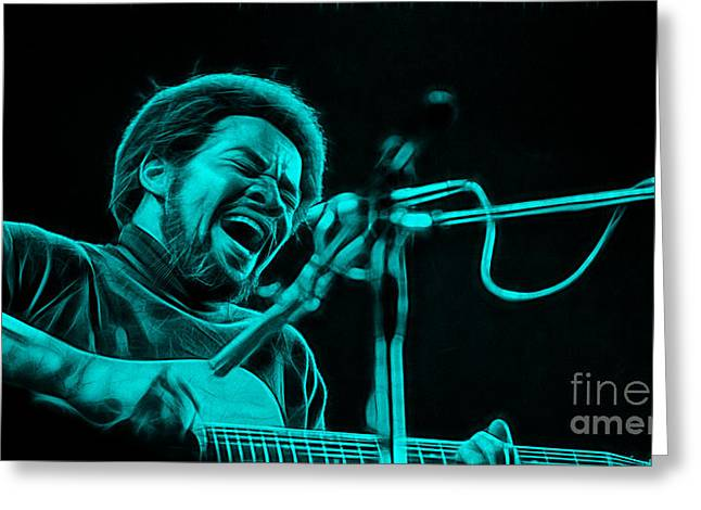 Bill Withers Collection Greeting Card by Marvin Blaine