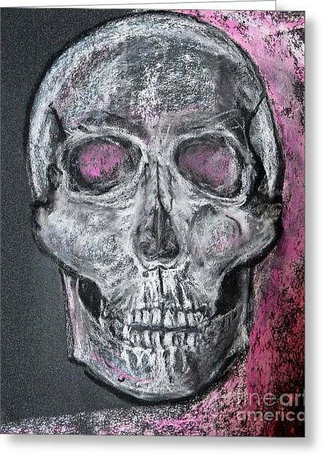 Billie's Skull Greeting Card