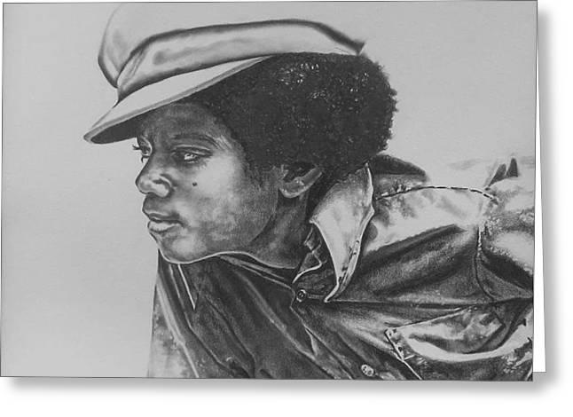 Billie Jean - Michael Jackson Greeting Card