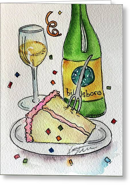 Billsboro Birthday Greeting Card by Kathy Sturr