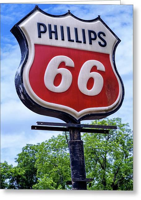 Billy Carter Phiilips 66 - Plains, Georgia Greeting Card