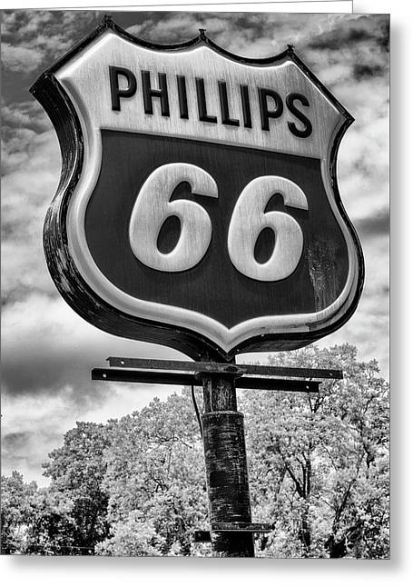 Billy Carter Phillips 66 Greeting Card