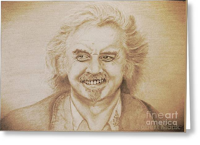 Billy Connolly Greeting Card