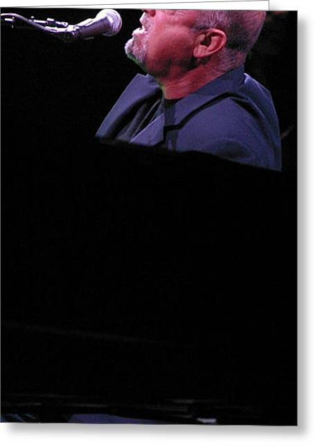Billy Joel 4 Greeting Card by Jack Dagley