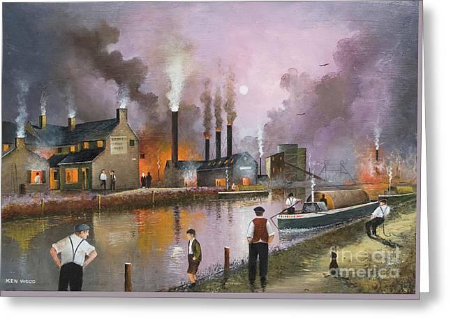 Bilston Steelworks Greeting Card