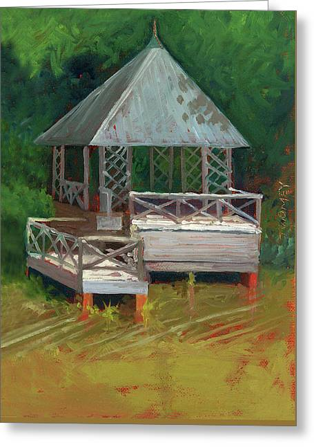 Biltmore Boathouse 2.0 Greeting Card