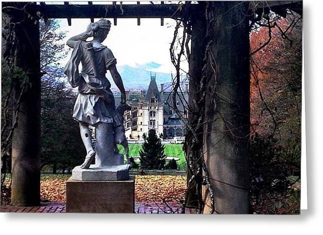 Biltmore Goddess Greeting Card by Jen McKnight