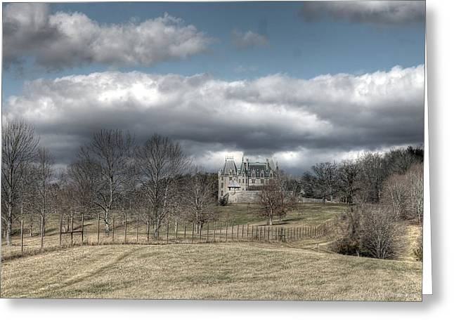 Biltmore House And Garden Asheville North Carolina Greeting Card