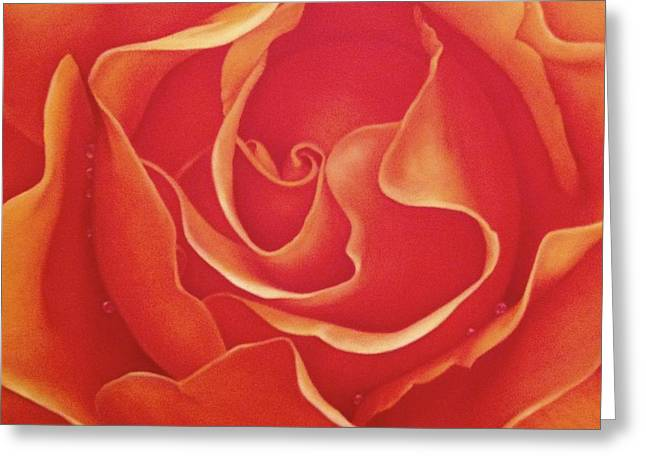 Biltmore Rose Greeting Card by Dee Dee  Whittle