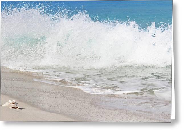 Bimini Wave Sequence 2 Greeting Card