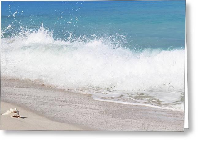 Bimini Wave Sequence 4 Greeting Card