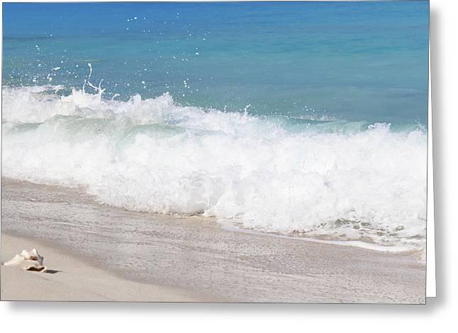 Bimini Wave Sequence 5 Greeting Card
