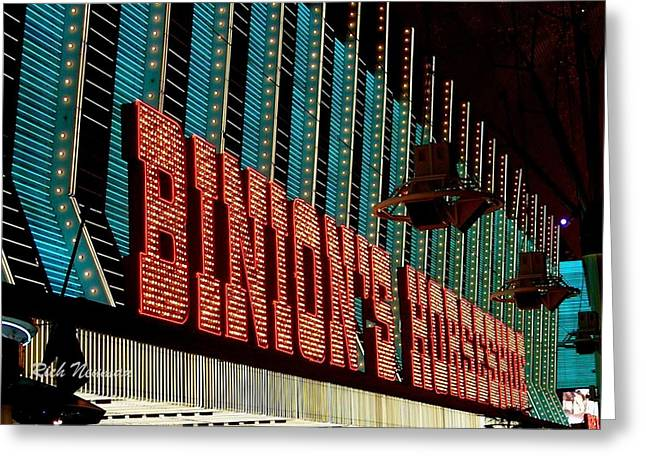 Binions Marquee Greeting Card