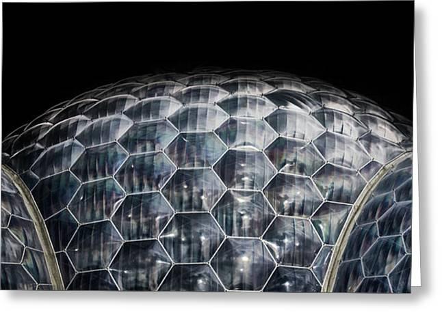 Bio Dome Greeting Card by Martin Newman