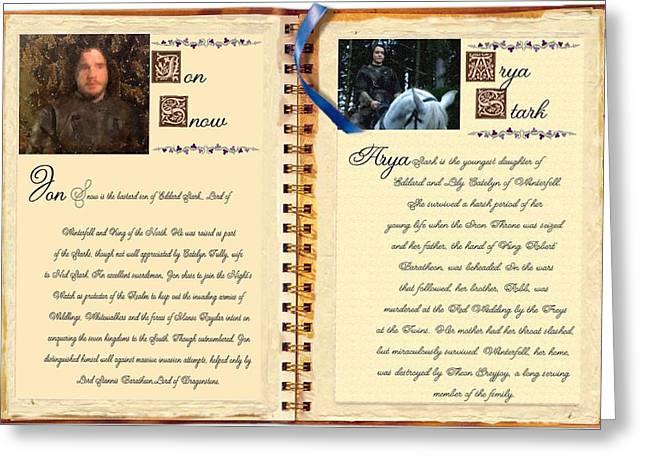 Bio House Stark Greeting Card