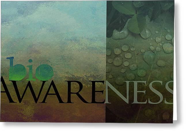 bioAWARENESS II Greeting Card