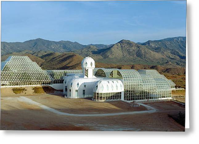 Biosphere 2, Arizona Greeting Card by Panoramic Images