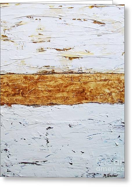 Birchwood Greeting Card by Marsha Heiken