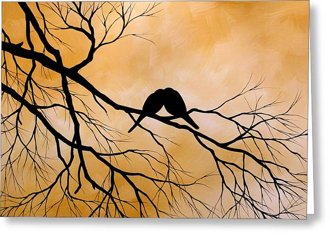 Bird Art Lost Without You By Amy Giacomelli Greeting Card