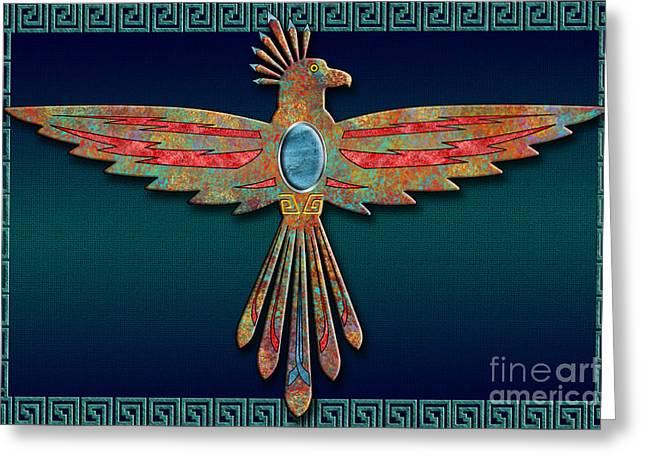 Bird Of Thunder Greeting Card