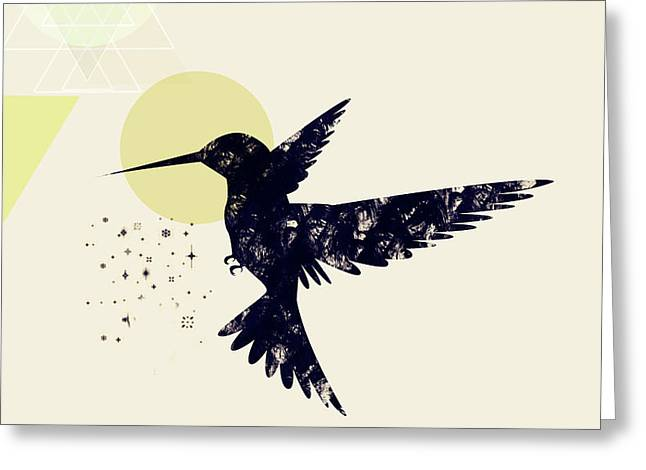Bird X Greeting Card