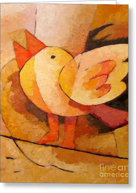 Birdie Greeting Card by Lutz Baar