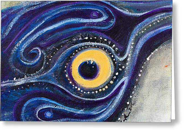 Birds Eye Greeting Card